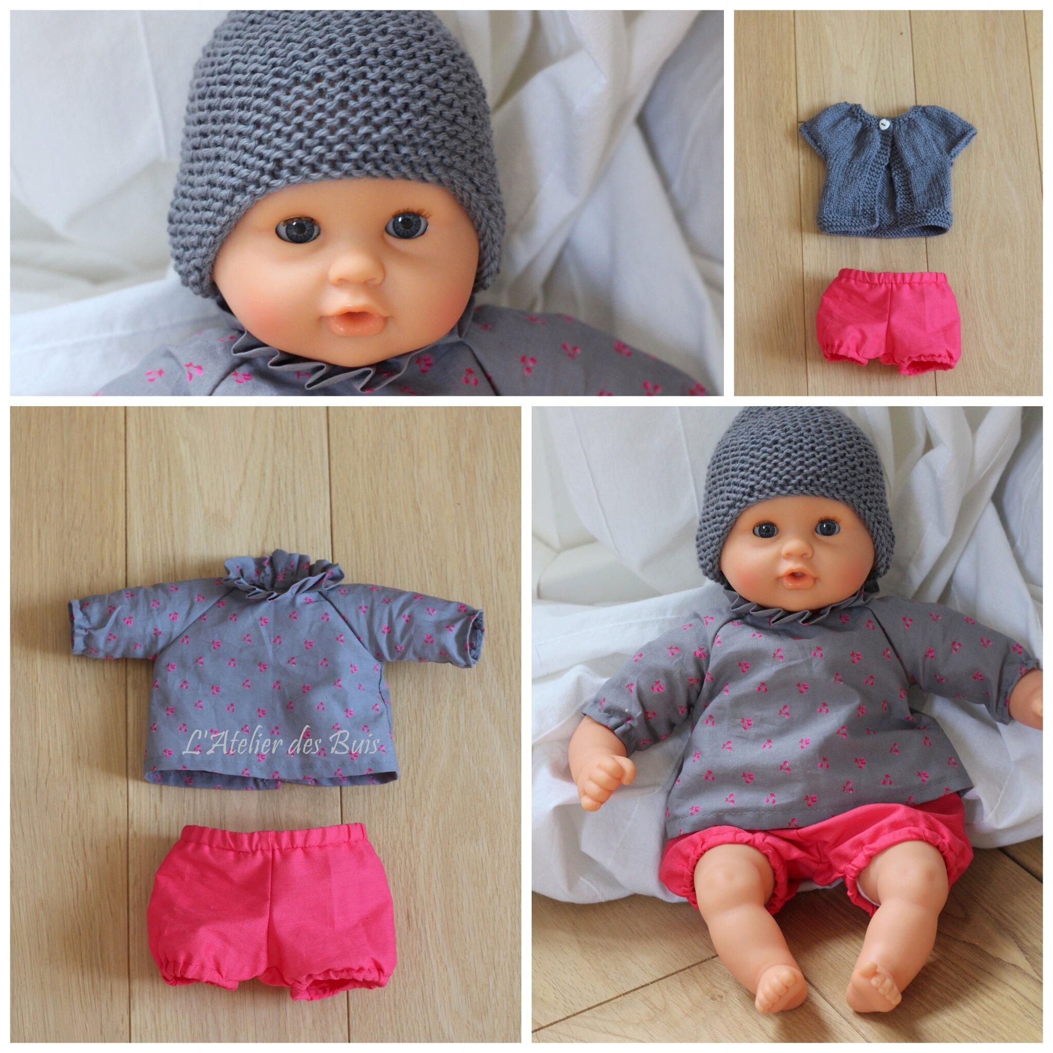 Des vêtements pour bébé Corolle