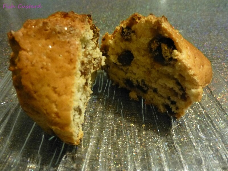 Muffins rhum raisin (3)