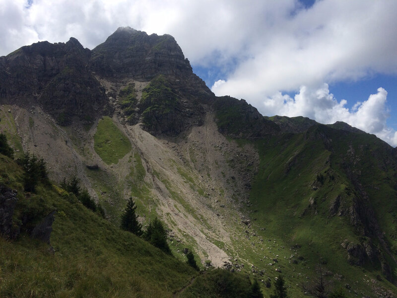Le Mont de Grange, obscurci