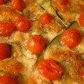 Tarte aux Tomates cerise et Mozzarella