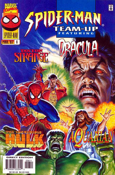 spiderman team-up 1995 06 dr strange & dracula & hulk & aquarian