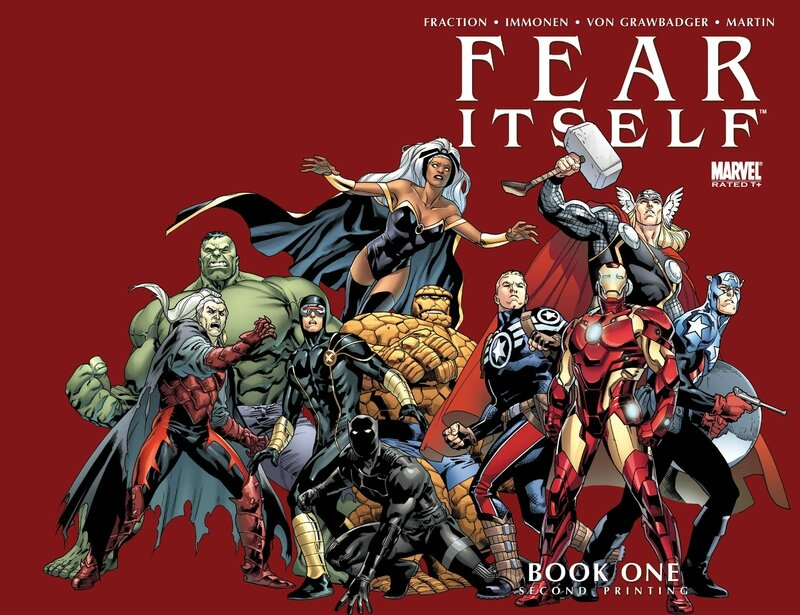 fear itself book one 2nd print