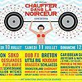 Breton, aaron, joeystarr à l'affiche du 23ème festival chauffer dans la noirceur • montmartin-sur-mer • 10, 11 & 12 juillet 2015