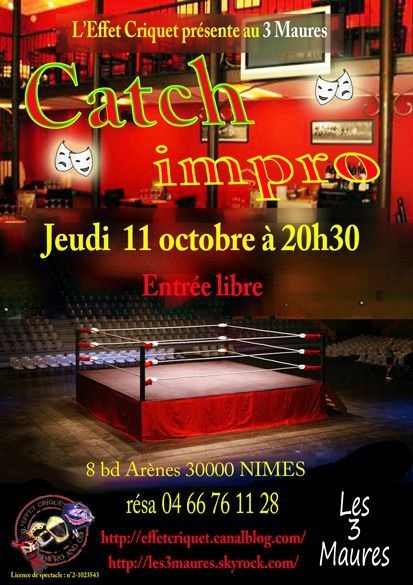 Catch au 3 maures octobre 2012 quart