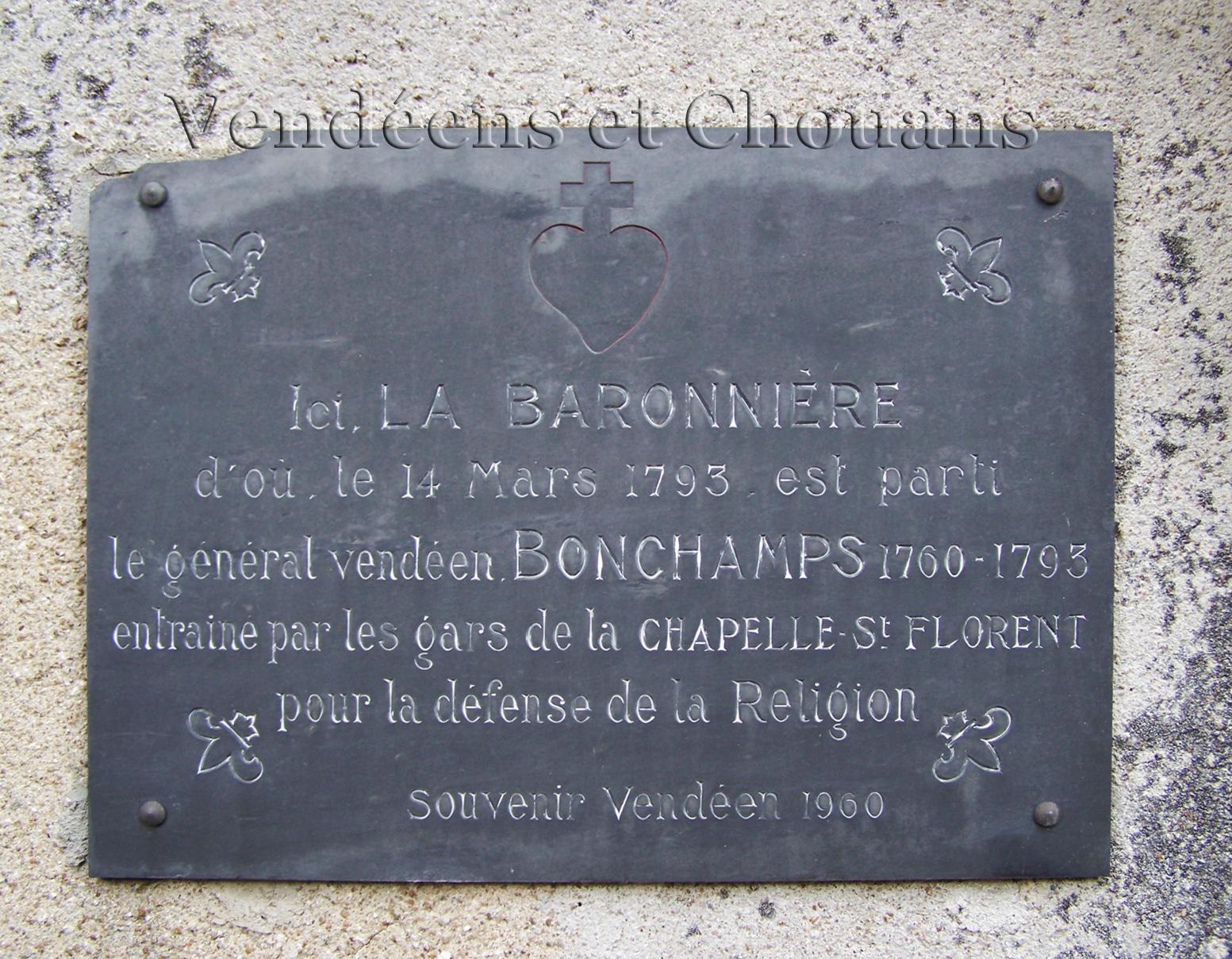 La Chapelle-Saint-Florent (49) – La Baronnière (1982)