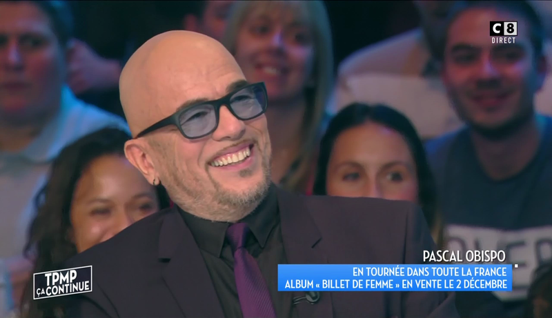 [REPLAY] Pascal Obispo invité de TPMP chez Cyril Hanouna
