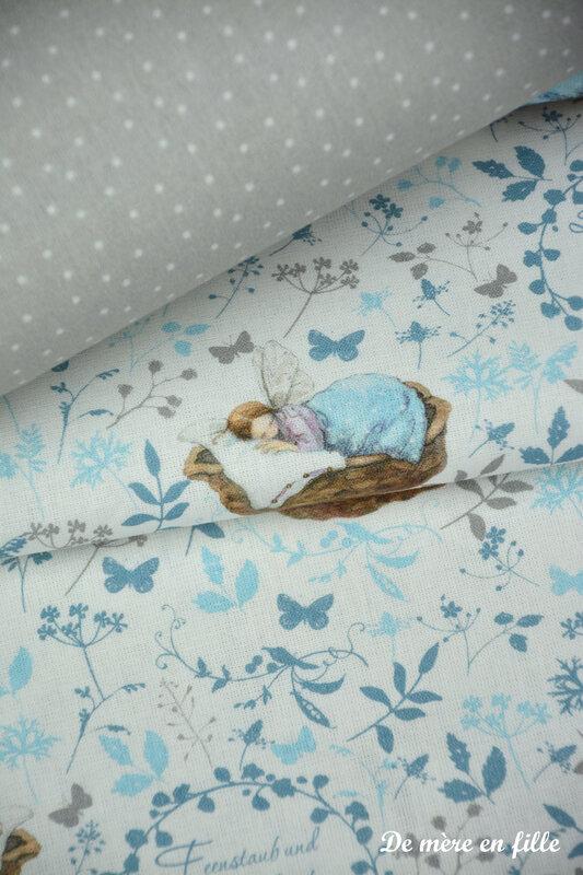 Petites fées endormies dans son panier 2