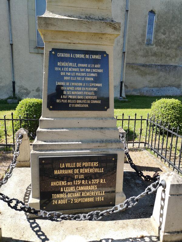 Réméréville Pentecôte 1935 monument aux morts (2)