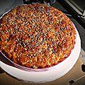 Gâteau aux pommes & caramel