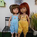 Noémie et Léane