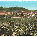 Trans en Provence-Vue sur le village et le Puits aérien