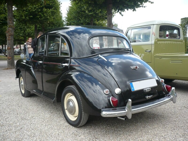 MORRIS Minor 1000 berline 4 portes Schwetzingen (2)