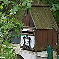 Boîte aux lettres maisonnette en bois (37 - Chédigny)
