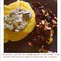 Dans la peau d'une végétalienne intolérante au gluten (2): repas