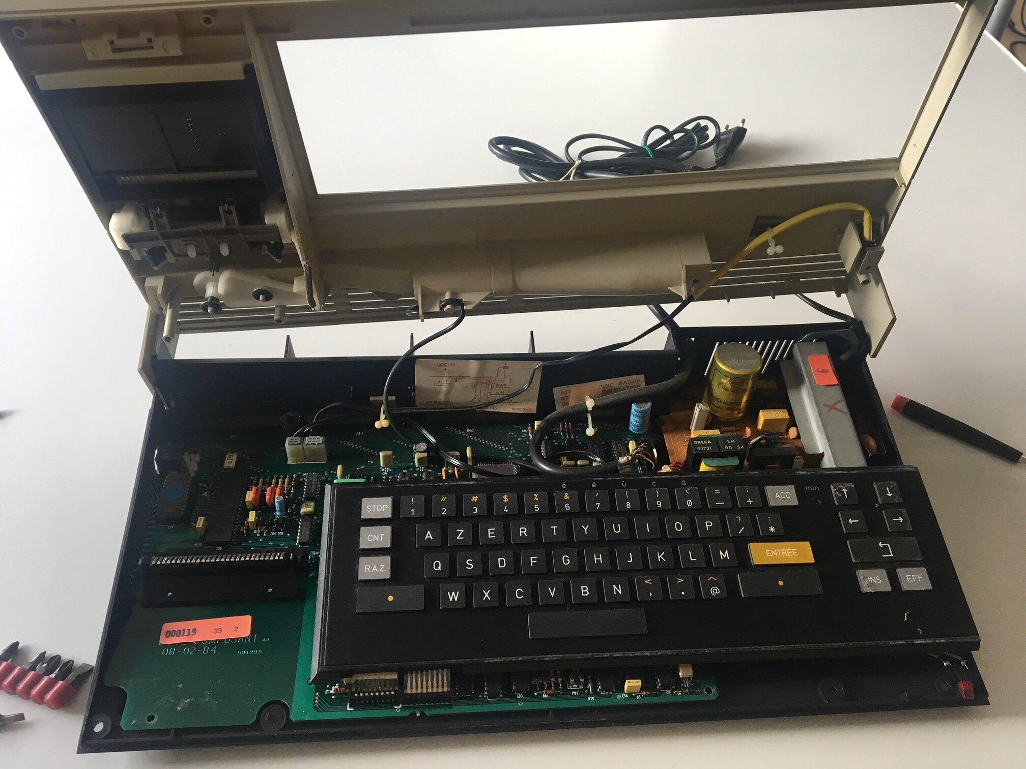 reparation du clavier de mon to7 70 le retroblog de turk182 reparation du clavier de mon to7 70