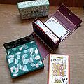 Projet du jour - etui pour jeu de cartes