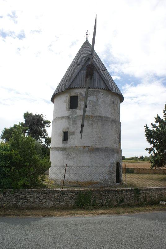 Moulin de la Brée - Oléron - Dépt 17