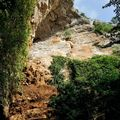 Chemin de hallage - la falaise
