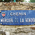 Auray (56), chemin Mercier (de) la Vendee