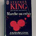 Marche ou crève, stephen king
