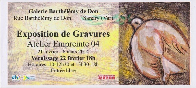 invitation Sanary