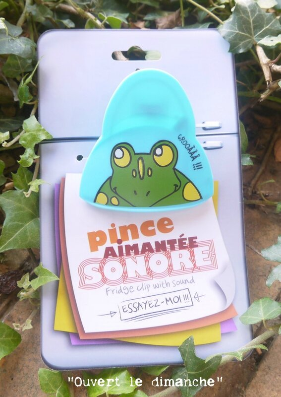 pince grenouille