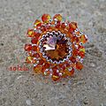 bague orange Dany