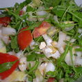 Salade fenouil roquette