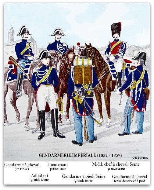 gendarme uniforme z