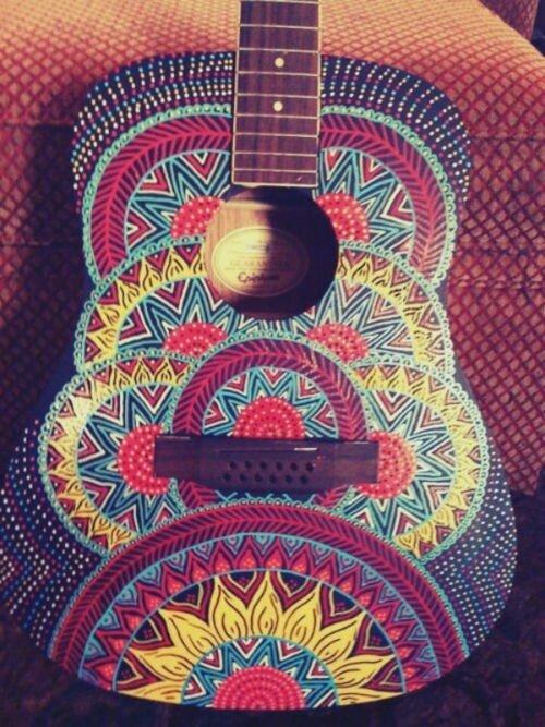 Guitare-Hippie