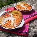 Clafoutis à l'abricot et sirop d'orgeat à consommer sans modération !!