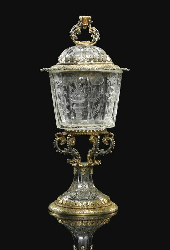 Cup And Cover, Southern German, mid-17th century