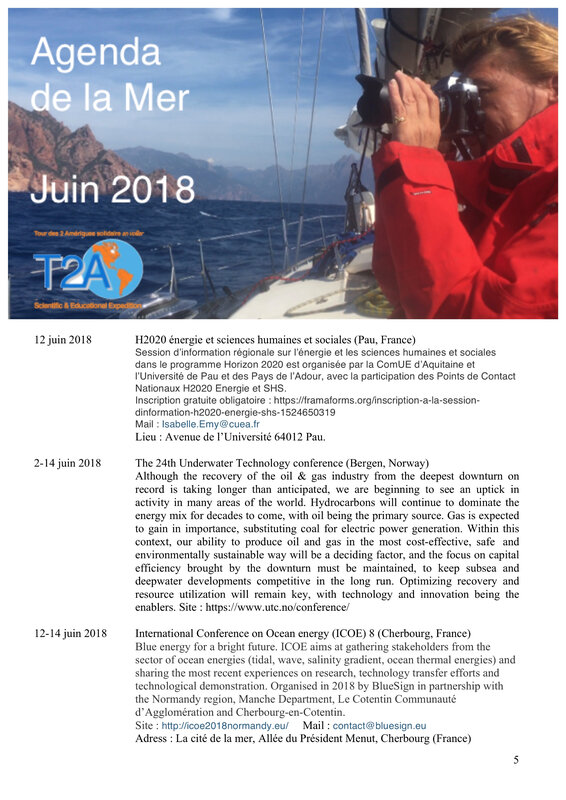 Agenda de la mer juin 2018 page 5:8