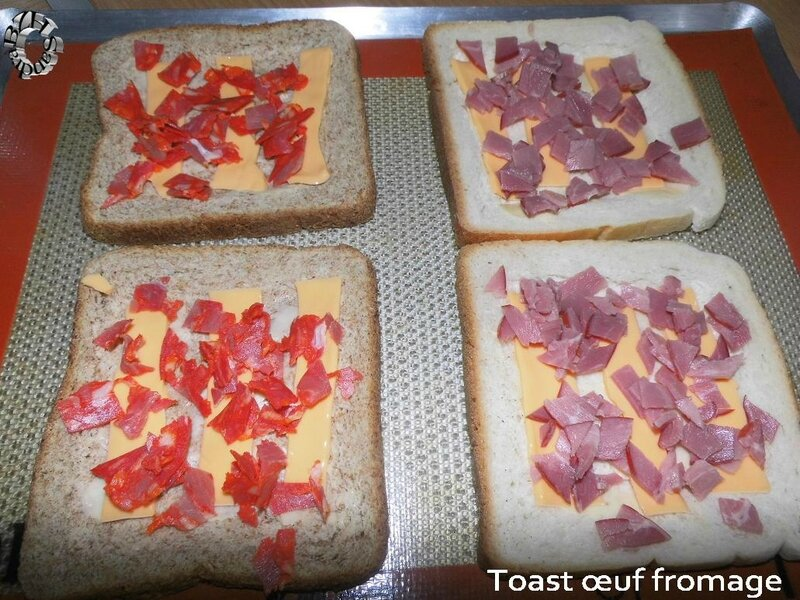 0504 Toast oeuf fromage 3