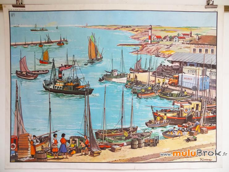 AFFICHE-MDI-Port-de-pêche-1-muluBrok-Vintage