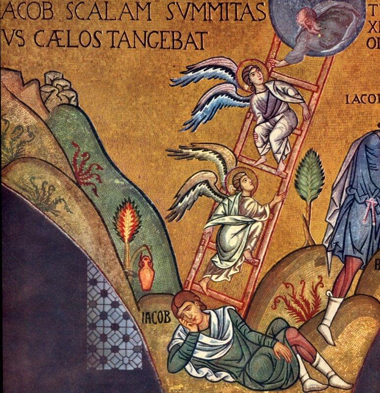 échelle de Jacob, chapelle palatine