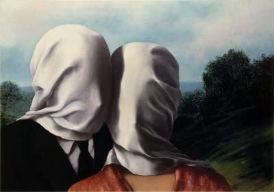 Les amants, René Magritte