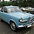 Alfa romeo giulietta berlina série 1 1955-1959