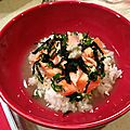 Ô chasuké (saumon au thé vert/sakechasuké))