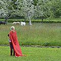 balade à cheval médiévale - Abbaye de Hambye (110)