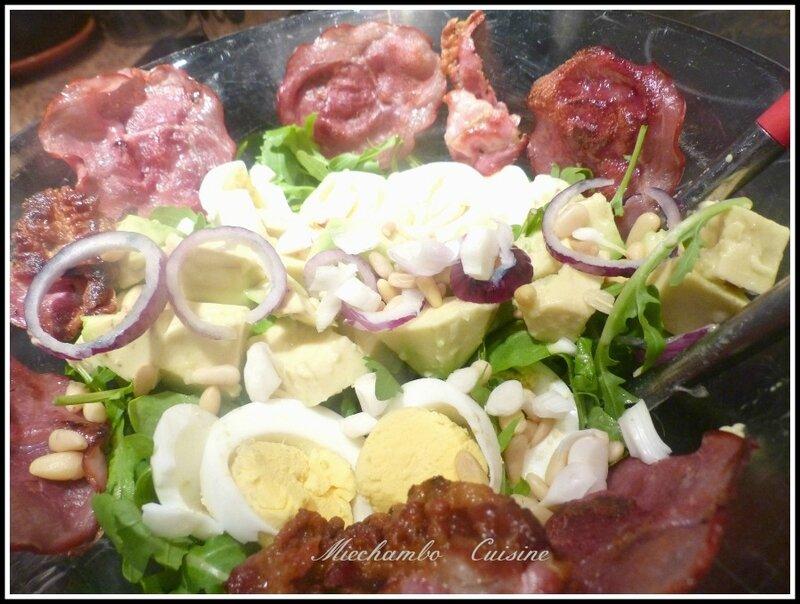 """Salade composée """"fond de frigo"""""""