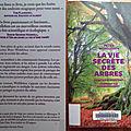 La vie secrète des arbres, de peter wohlleben