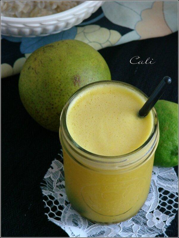 Jus Ananas, Orange, Citron Vert & Gingembre 003