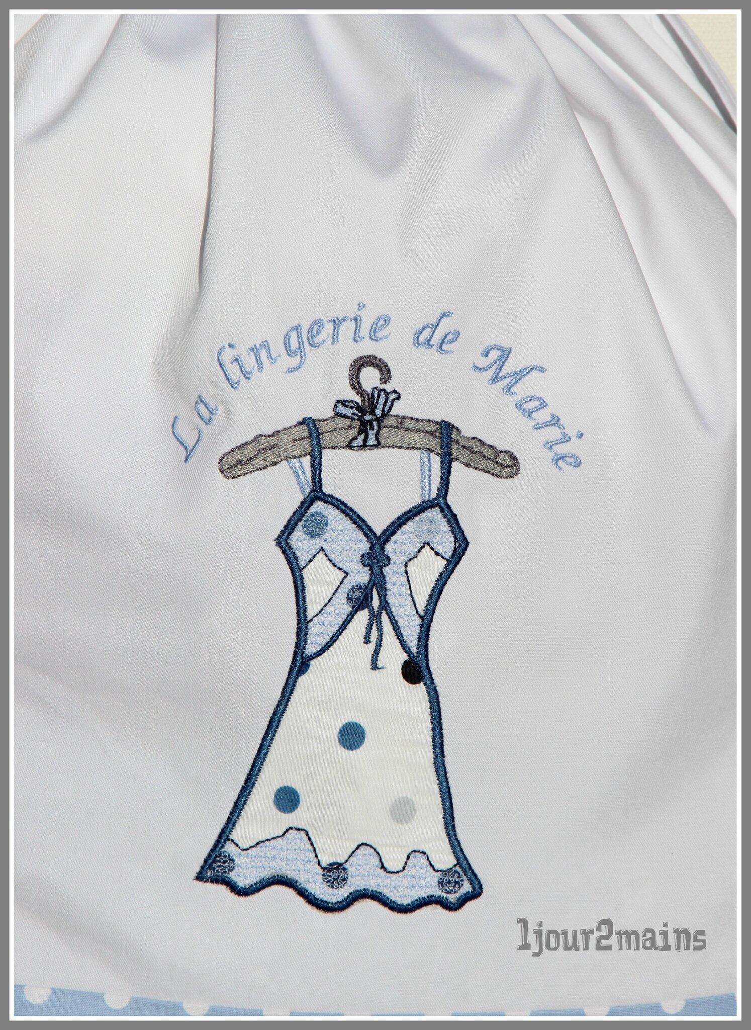 sac lingerie marie