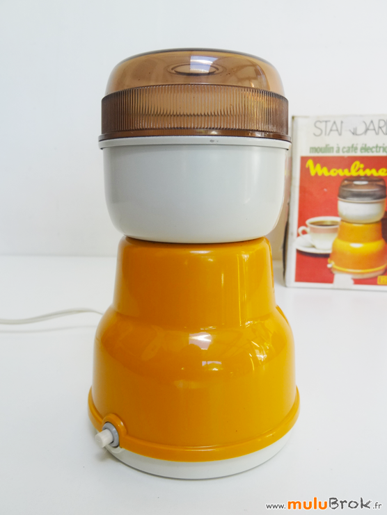 MOULINEX-Moulin-café-Orange-7-Seventies-muluBrok-Vintage