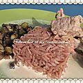 Escalope de veau à la crème citronnée, poêlées de légumes - express (sg)
