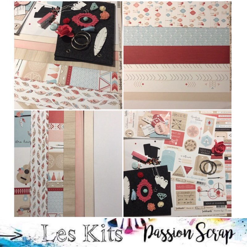 kit Hippie Chic Passion Scrap