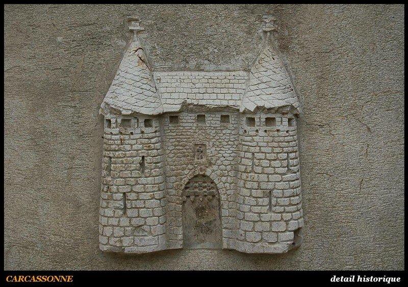 CARCASSONNE - detail historique