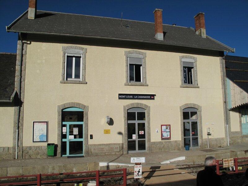 Gare de Mont Louis la Cabanasse