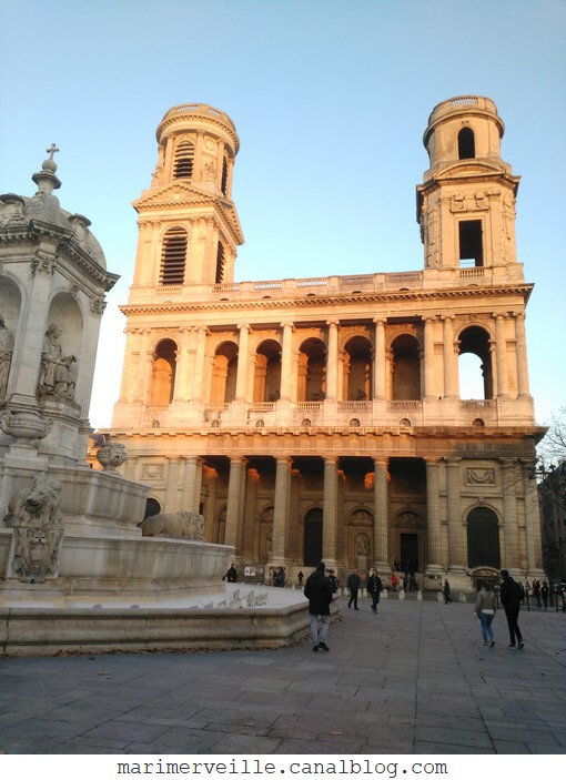 Place Saint Sulpice - paris - marimerveille